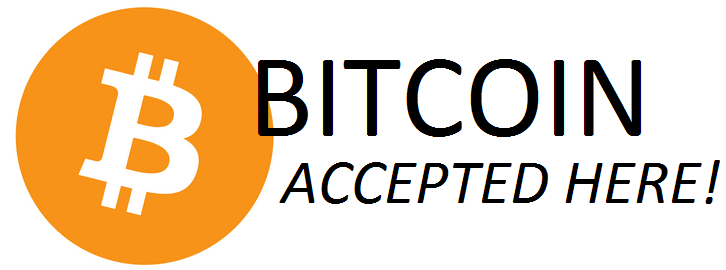 accepts bitcoins