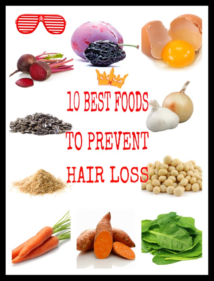 Hair Growth Vitamins Food 12